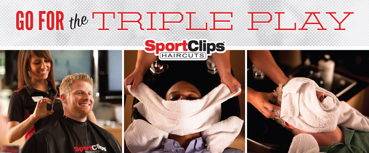 The Sport Clips Haircuts of Deerfield at Cadwell's Corners Triple Play