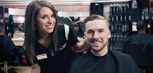 Sport Clips Haircuts of Deerfield at Cadwell's Corners​ stylist hair cut